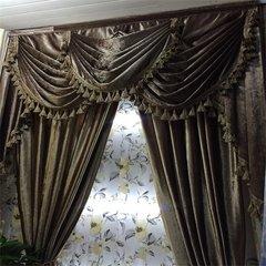 贵州布艺窗帘订做厂家