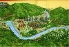 旅游景区模型