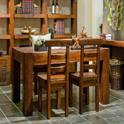 老榆木餐桌椅老榆木榆木快餐桌老榆木酒店家具供应库