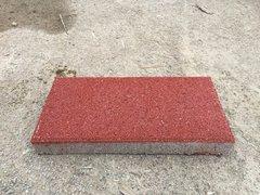 粗面鲜红环保型透水砖