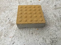 鲜黄粗面环保型透水砖