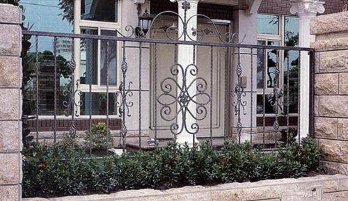 成都别墅花园栅栏