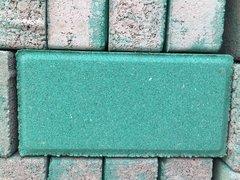 鲜绿色细面分层透水砖