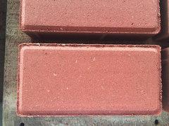 暗红细面分层透水砖