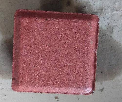 红色环保型透水砖