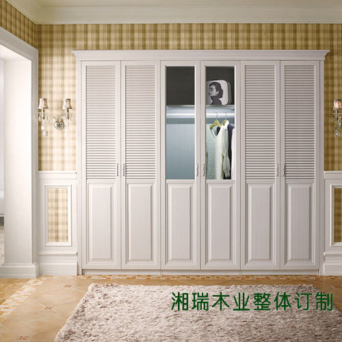 中式大衣柜定做效果图简单大方
