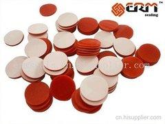 11-1mm白色四氟 红色硅胶隔垫