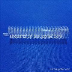 水处理用螺旋石英管