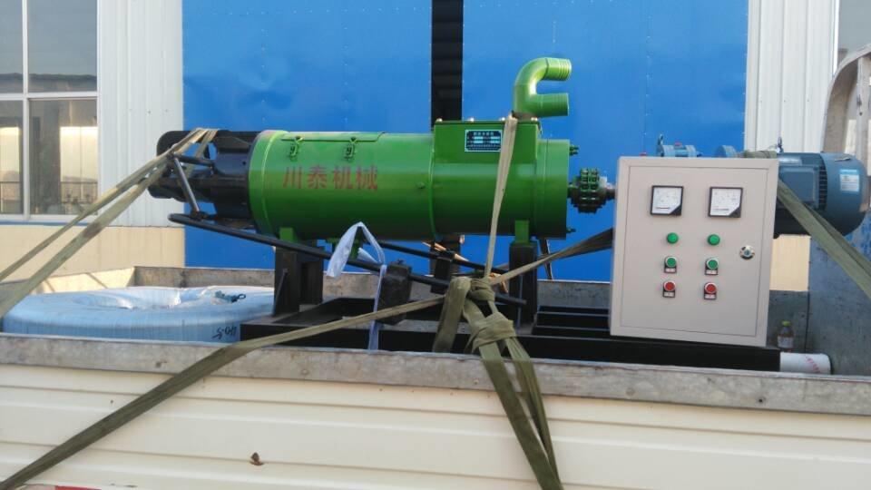 牛粪处理机 养牛场牛粪怎么处理 川泰牛粪脱水机帮您解决