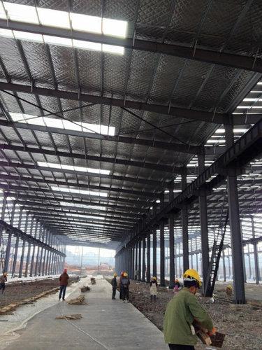 贵阳钢结构厂房设计
