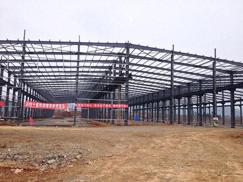 贵州钢架构厂房设计