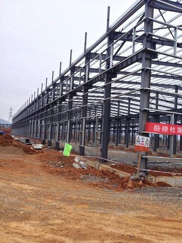 贵阳钢架结构厂房施工