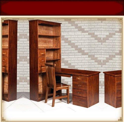 博物馆香樟木书柜
