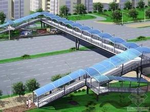 贵阳钢结构人行天桥设计