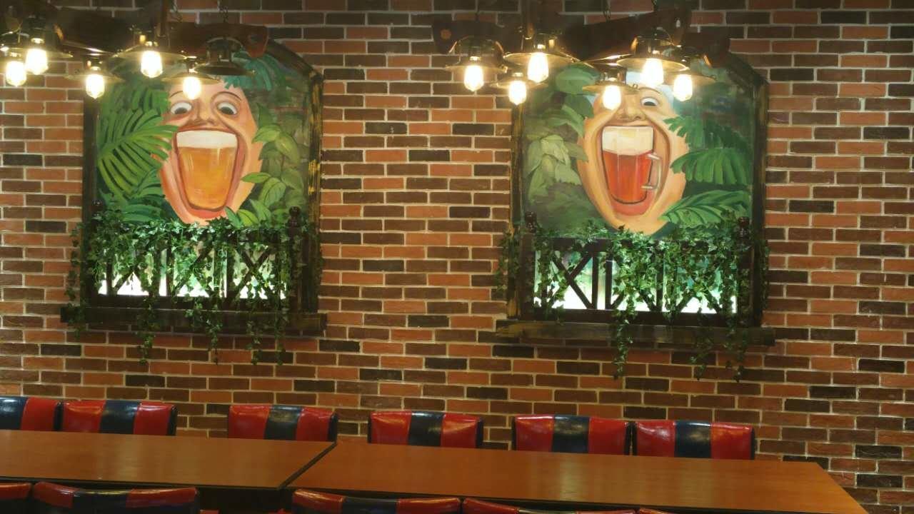 家庭餐厅手绘墙 图片合集