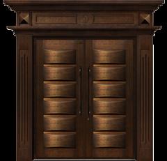 雅帝乐精雕铜木门