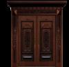 雅帝乐精雕铝木装甲门
