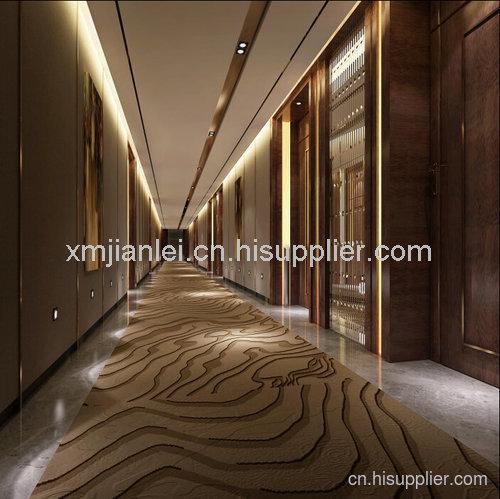 德泰酒店客房走廊