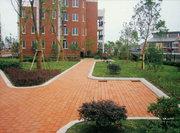 西安鼎盛建材小區內透水磚鋪設案例