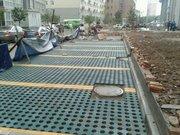西安鼎盛建材廣場透水磚鋪設案例