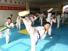 眉山学跆拳道