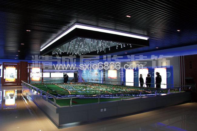 规划馆设计-工业园规划展览馆