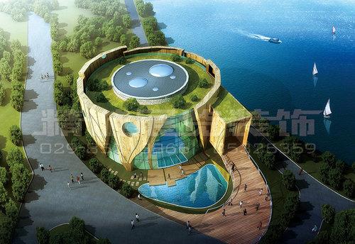 展览馆设计-世园会-绿地生态展览馆