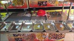 香豆腐-天蚕土豆-麻辣串小吃车