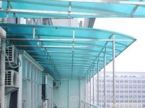 柳州玻璃钢结构雨篷