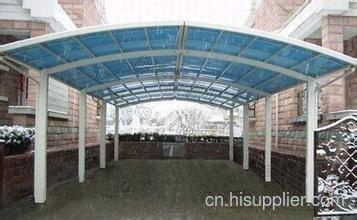 柳州户外遮雨棚安装