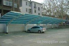 柳州汽车遮雨棚安装