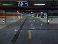 貴州安順停車場地坪