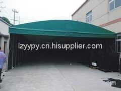 柳州大排档雨篷制作厂家