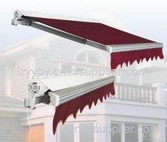 柳州伸缩雨篷安装工程