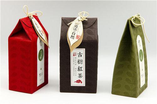 古树茶叶艺术纸标签