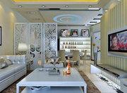 隔断装修秘技之使客厅高大尚的方法-襄阳活动隔断、高间隔断