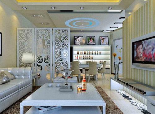 隔斷裝修秘技之使客廳高大尚的方法-襄陽活動隔斷、高間隔斷