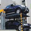 简易升降两立柱停车设备