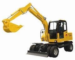 贵州轮式挖机租赁