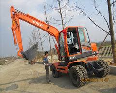 贵州轮式挖机地址
