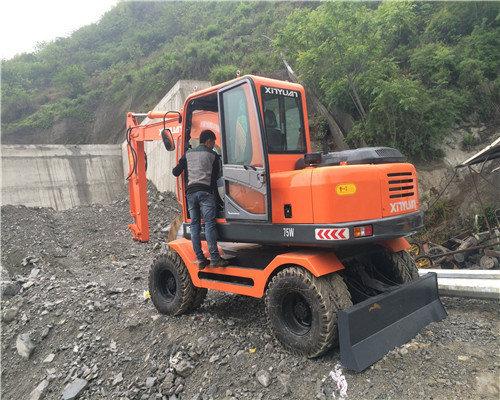 贵州哪里找轮式挖机