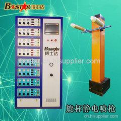 旋杯靜電自動噴涂機