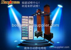 自動噴涂機 靜電自動噴漆噴塑機福建廠家