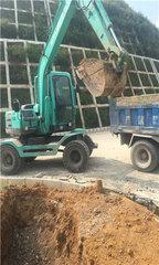 贵州轮式挖机租赁地址