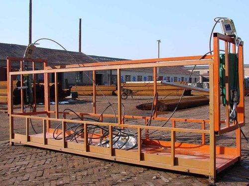 南宁吊篮装置完成之后的检查工作