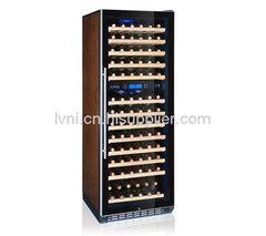 120支实木压缩机恒温双温红酒柜