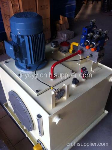 紡織機械提升機液壓系統
