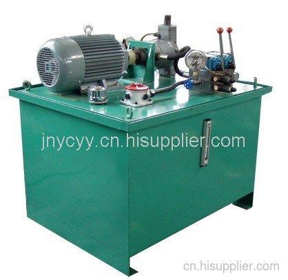 無縫焊接設備液壓站