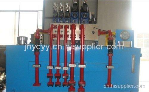 鋼廠設備用液壓站|角鋼設備用液壓系統