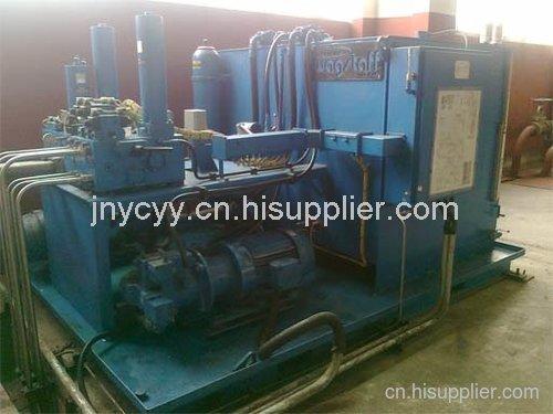 輪胎硫化機設備用液壓系統